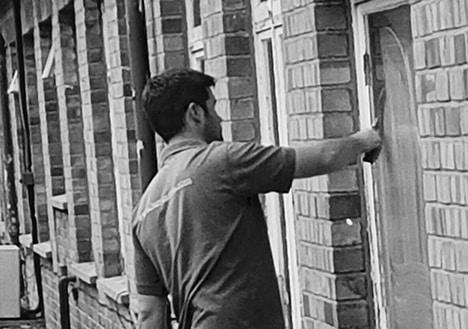 Standard Ladder Window Cleaning